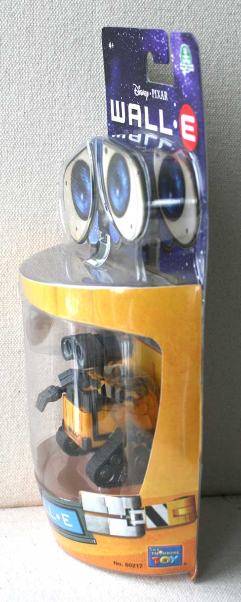 Figurine Giochi Preziosi : Wall-E (2008) Packaging