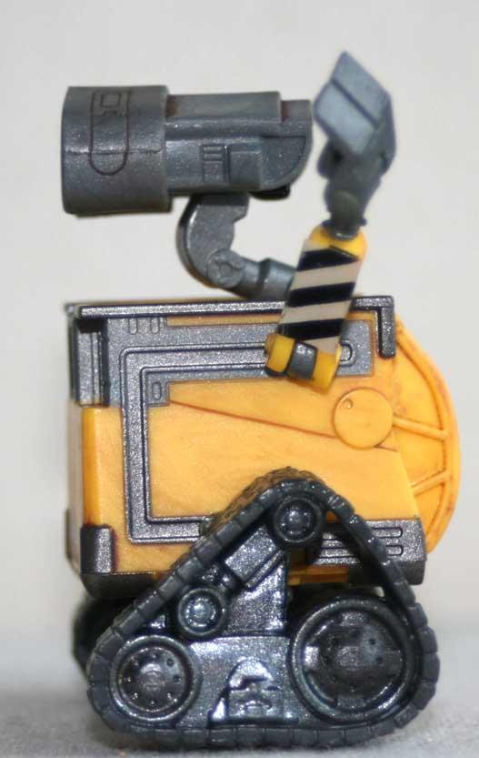 Figurine Giochi Preziosi : Wall-E (2008) détail chenilles