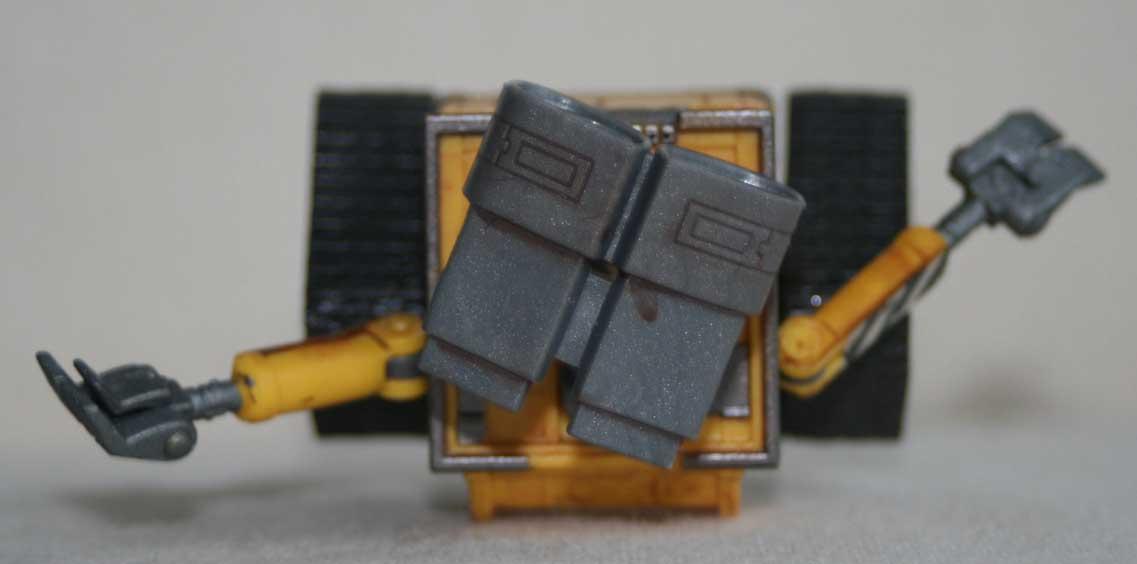 Figurine Giochi Preziosi : Wall-E (2008) dessus