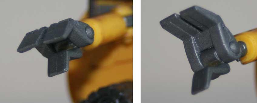 Figurine Giochi Preziosi : Wall-E (2008) détail main