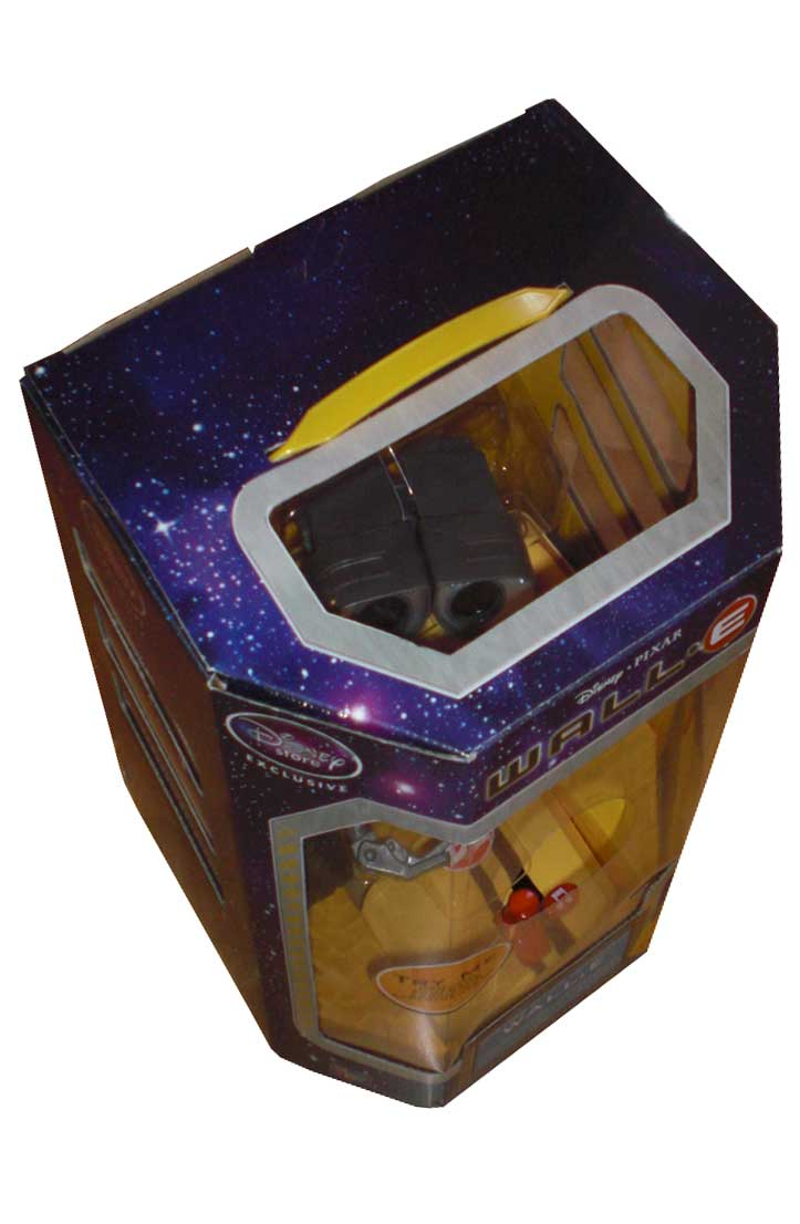 Thinkway Toys : Wall-E télécommandé (2008) Packaging