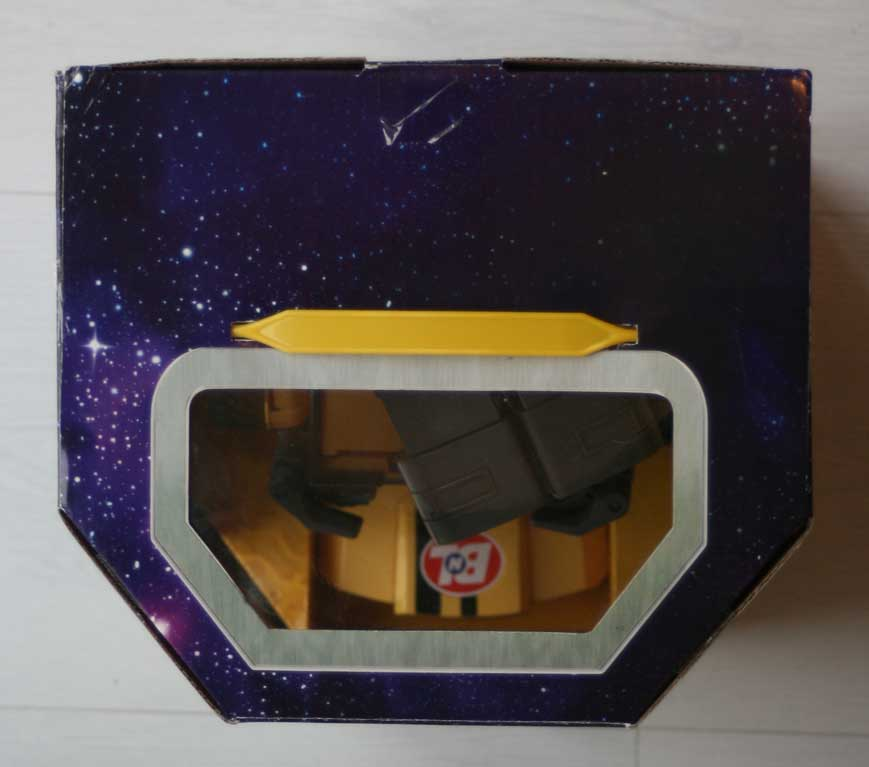 Thinkway Toys : Wall-E télécommandé (2008) Packaging dessus