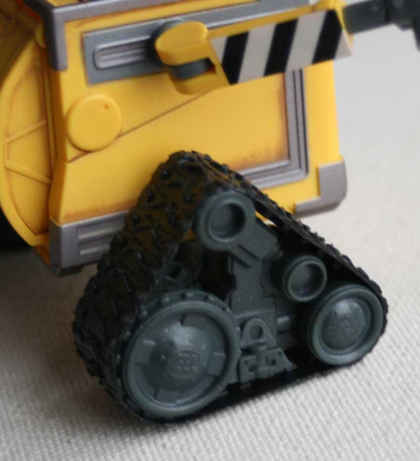U-Repair Wall-E (2008) détail chenilles