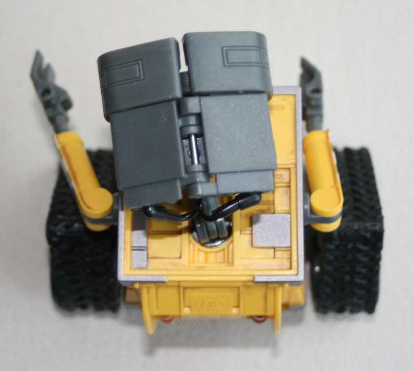 U-Repair Wall-E (2008) vue de dessus