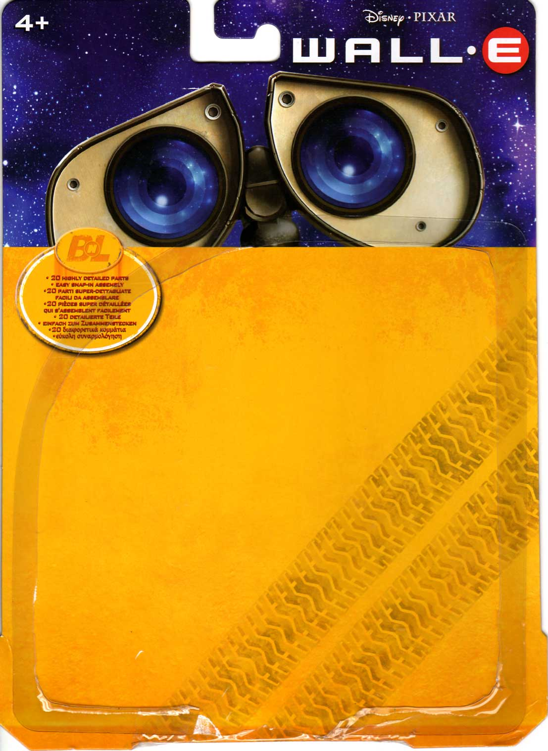 U-Repair Wall-E (2008) Packaging face ouvert