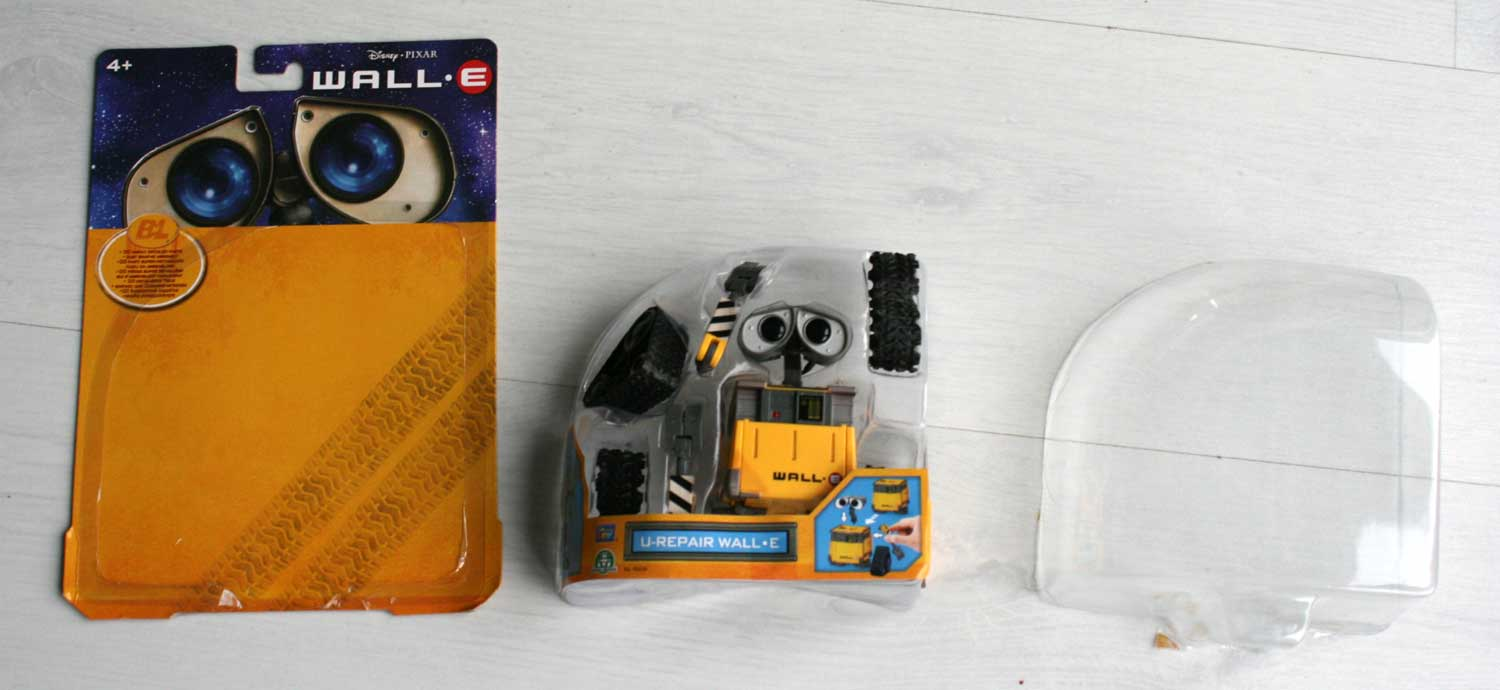 U-Repair Wall-E (2008) packaging ouvert