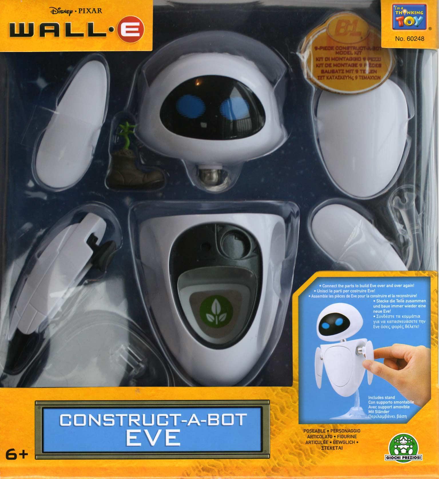 EVE Construct-a-Bot (Wall-E 2008) boite face