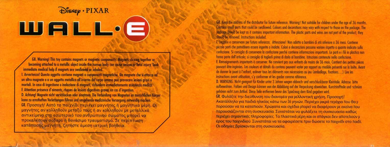 EVE Construct-a-Bot (Wall-E 2008) boite dessous