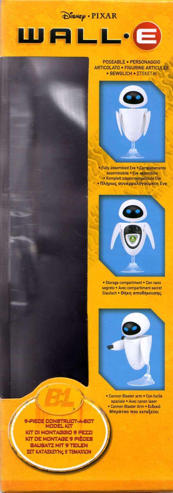 EVE Construct-a-Bot (Wall-E 2008) boite gauche