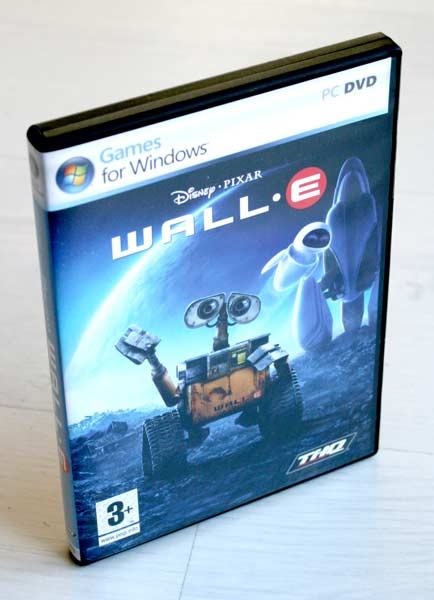 boite Wall-E (2008 Jeu vido THQ pour PC et MAC)