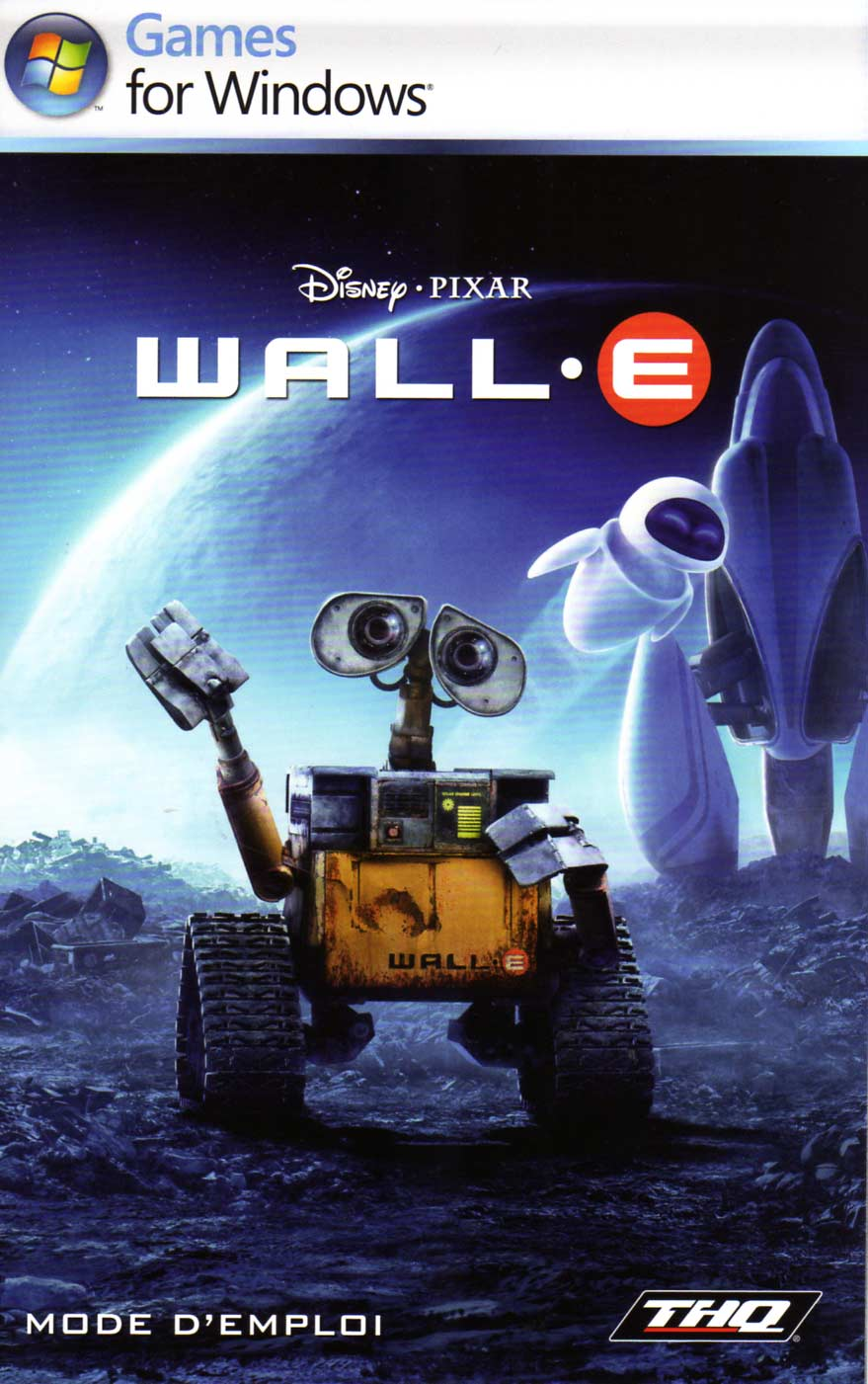 notice couverture Wall-E (2008 Jeu vido THQ pour PC et MAC)