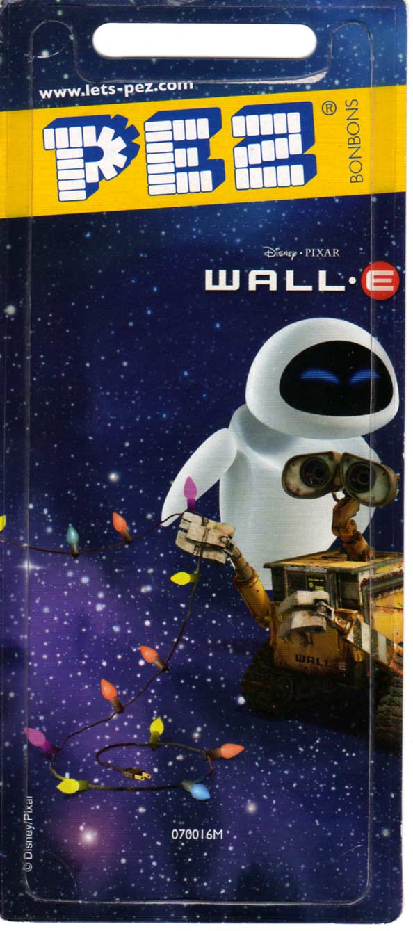 EVE (Wall-E - distributeur PEZ 2008)