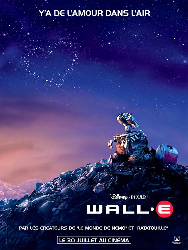 affiche Wall-E (fr)