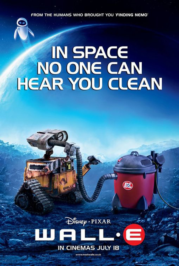 affiche Wall-E (en)