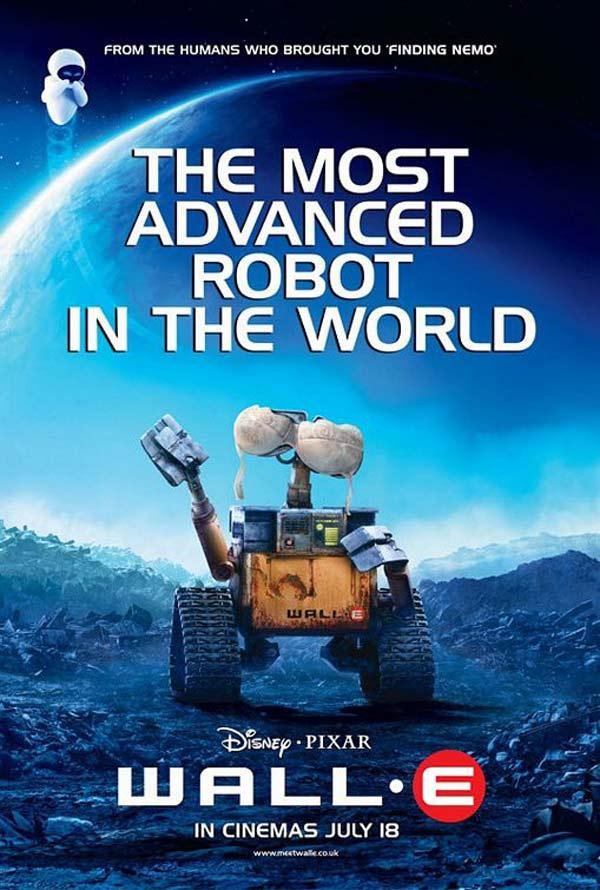 affiche Wall-E (en)