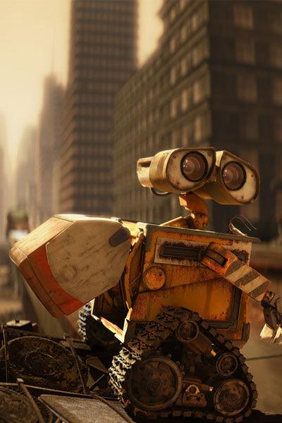 Wall-E part au boulot