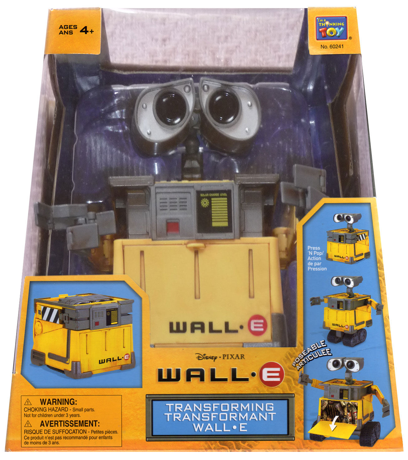 Packaging wall-E face ech 1