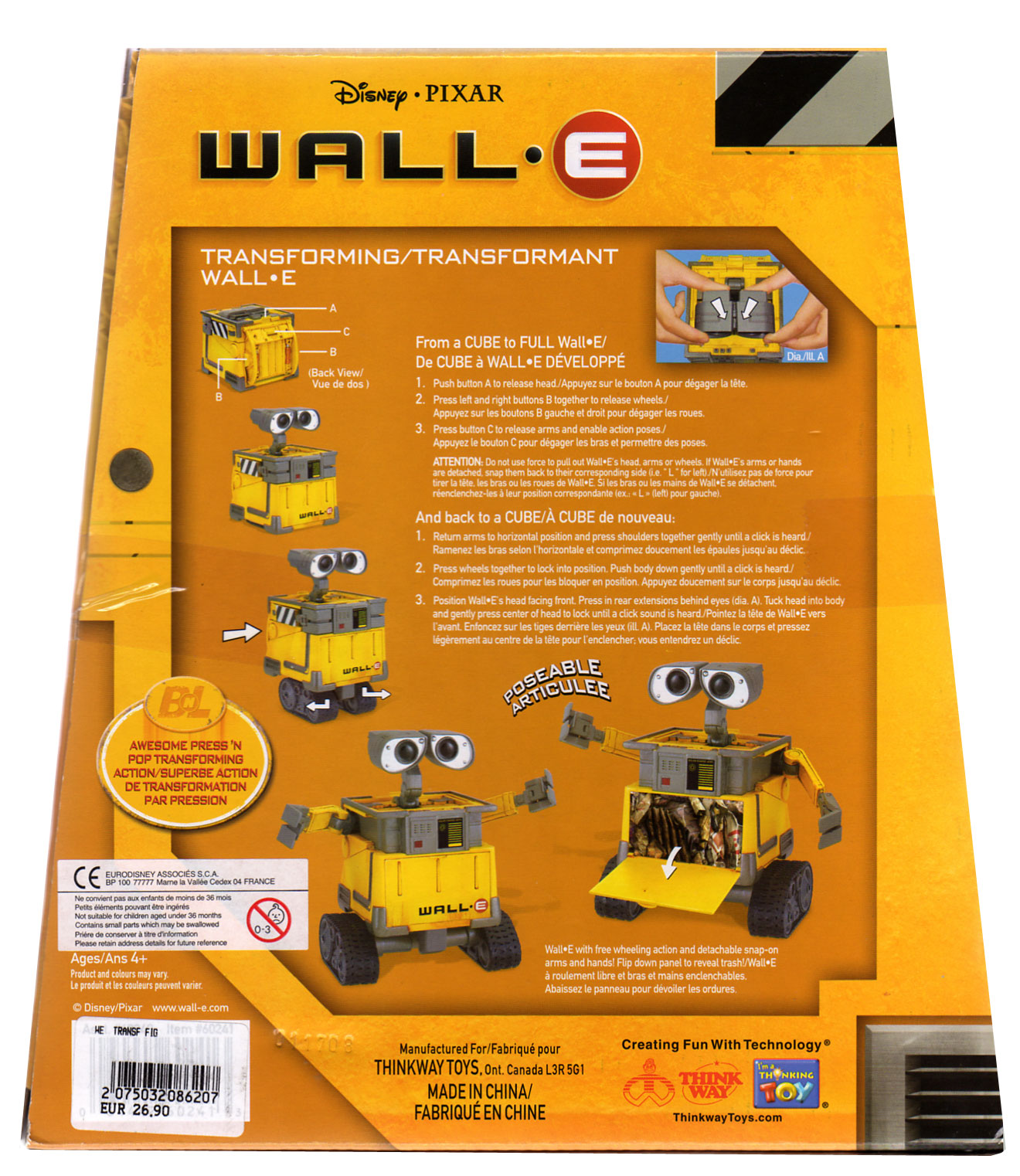 Packaging wall-E dos ech 1