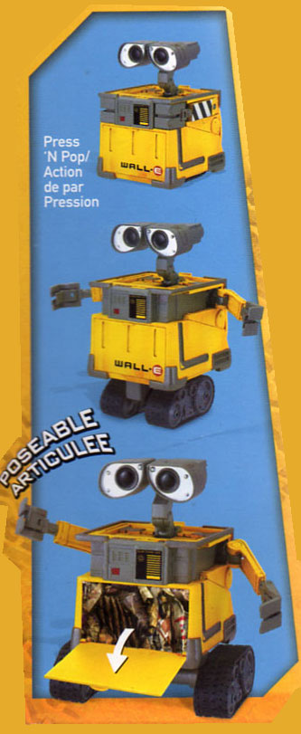 Wall-E Transforming