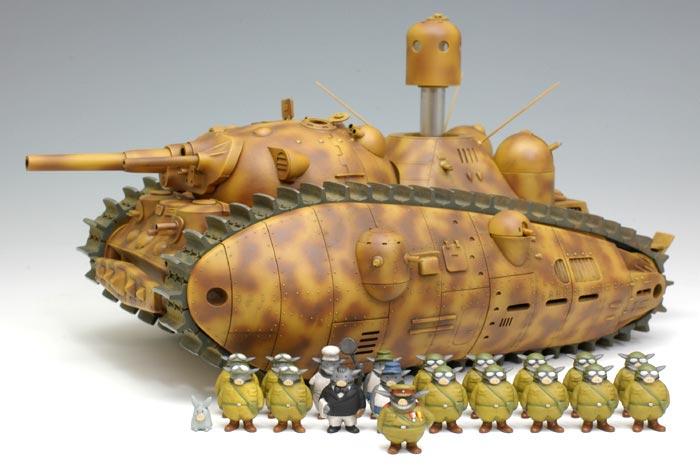 Tank Akuyaku Version 2 (avec tout l'équipage et non pas seulement 3 soldats)