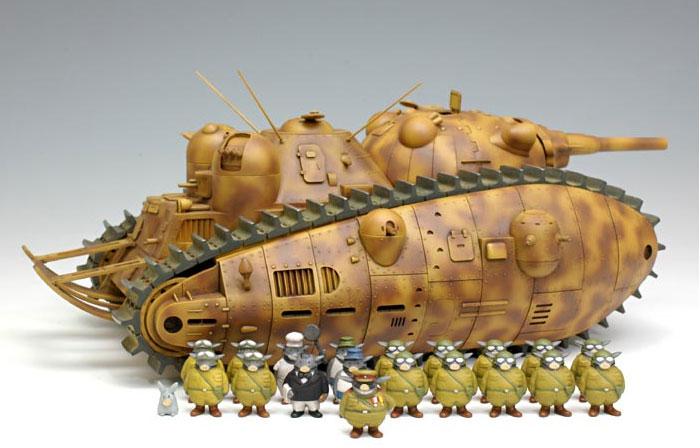 Tank Akuyaku et son équipage