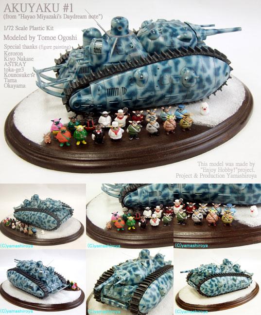 Version tiré du site : www.e-yamashiroya.com qui donnent de nombreuses astuces de peinture et de montage.