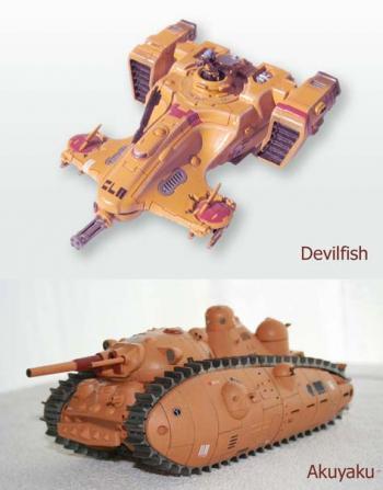 Akuyaku Tau et Devilfish