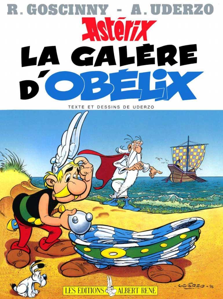 T30 : La Galère d'Obélix (Astérix) couverture