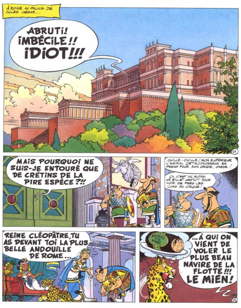 T30 : La Galère d'Obélix (Astérix) page 1