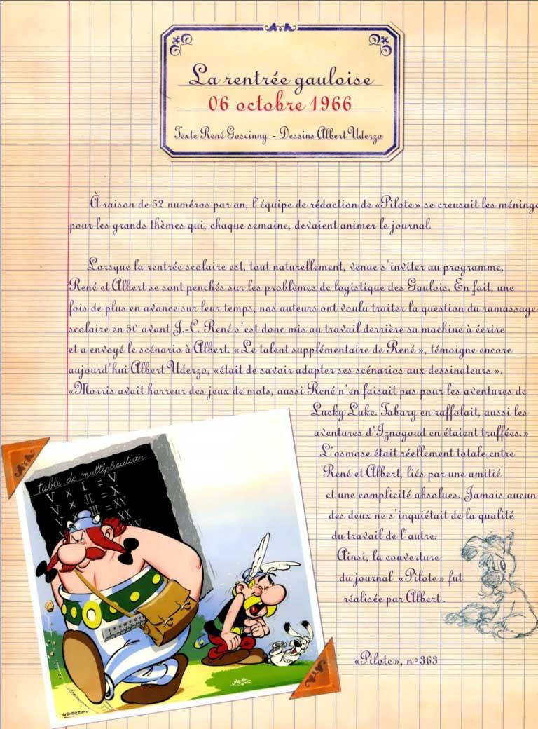 Astérix et la Rentrée gauloise page 2