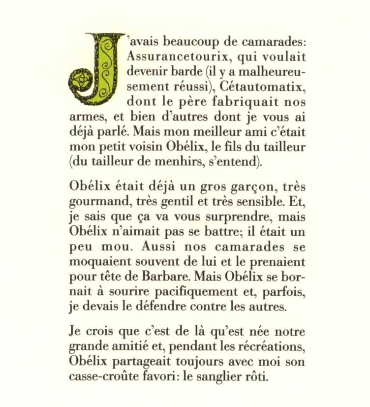 Comment Obélix est tombé dans la marmite du druide quand il était petit (page 3)