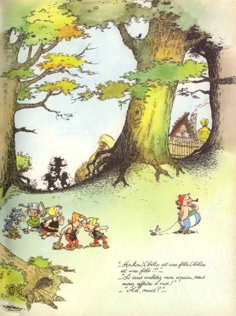 Comment Obélix est tombé dans la marmite du druide quand il était petit (page 4)