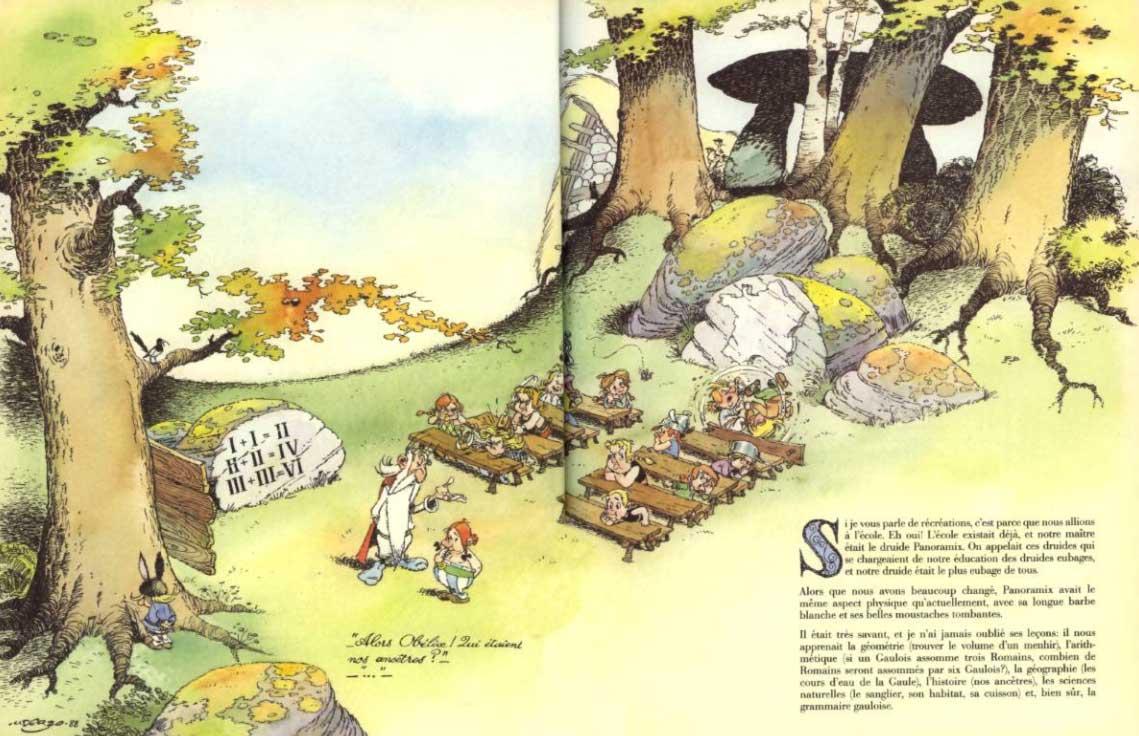 Comment Obélix est tombé dans la marmite du druide quand il était petit (page 5)