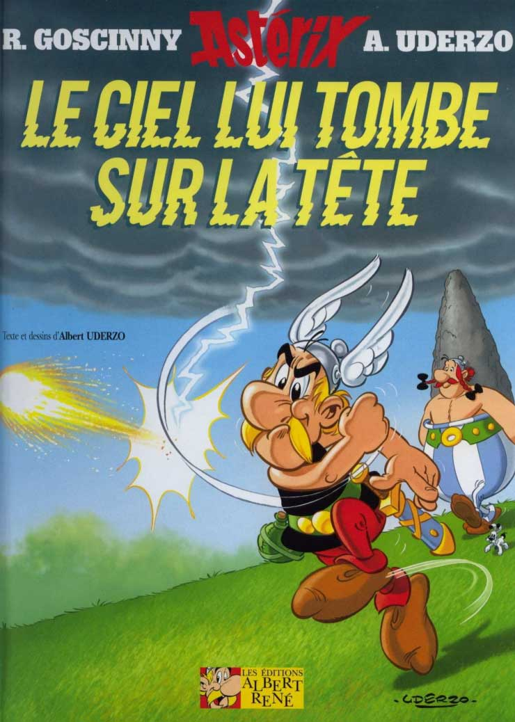 T33 : Le ciel lui tombe sur la tte (Astrix) couverture