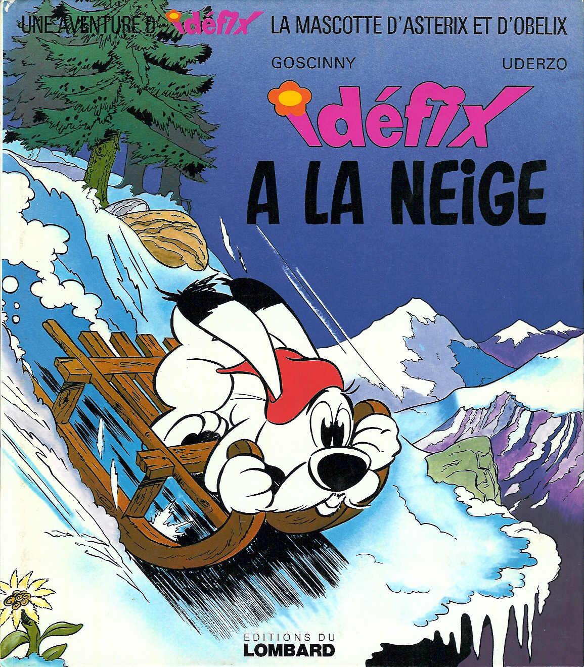 T07 : Idéfix à la neige (couverture)