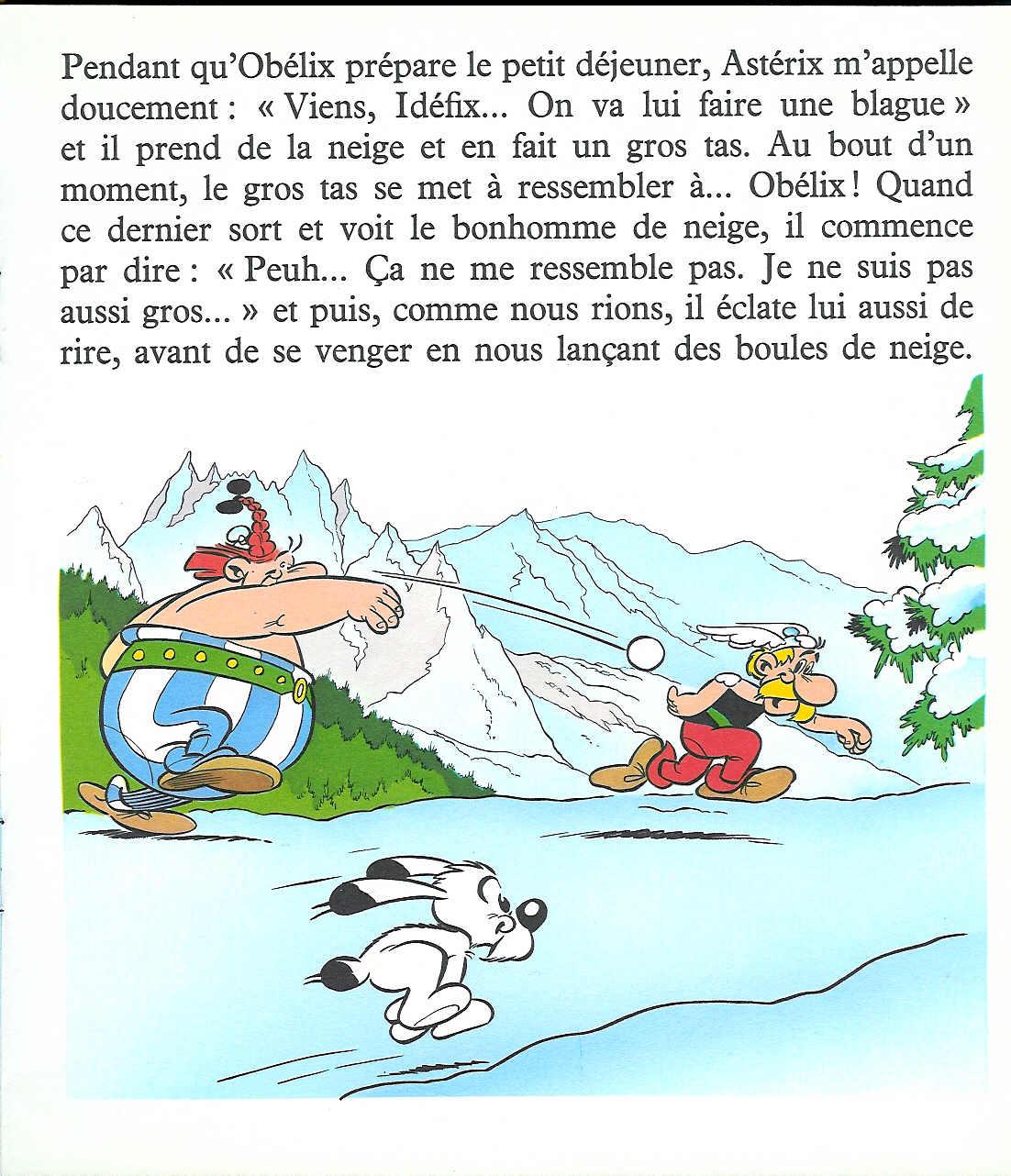 T07 : Idéfix à la neige (page 4)