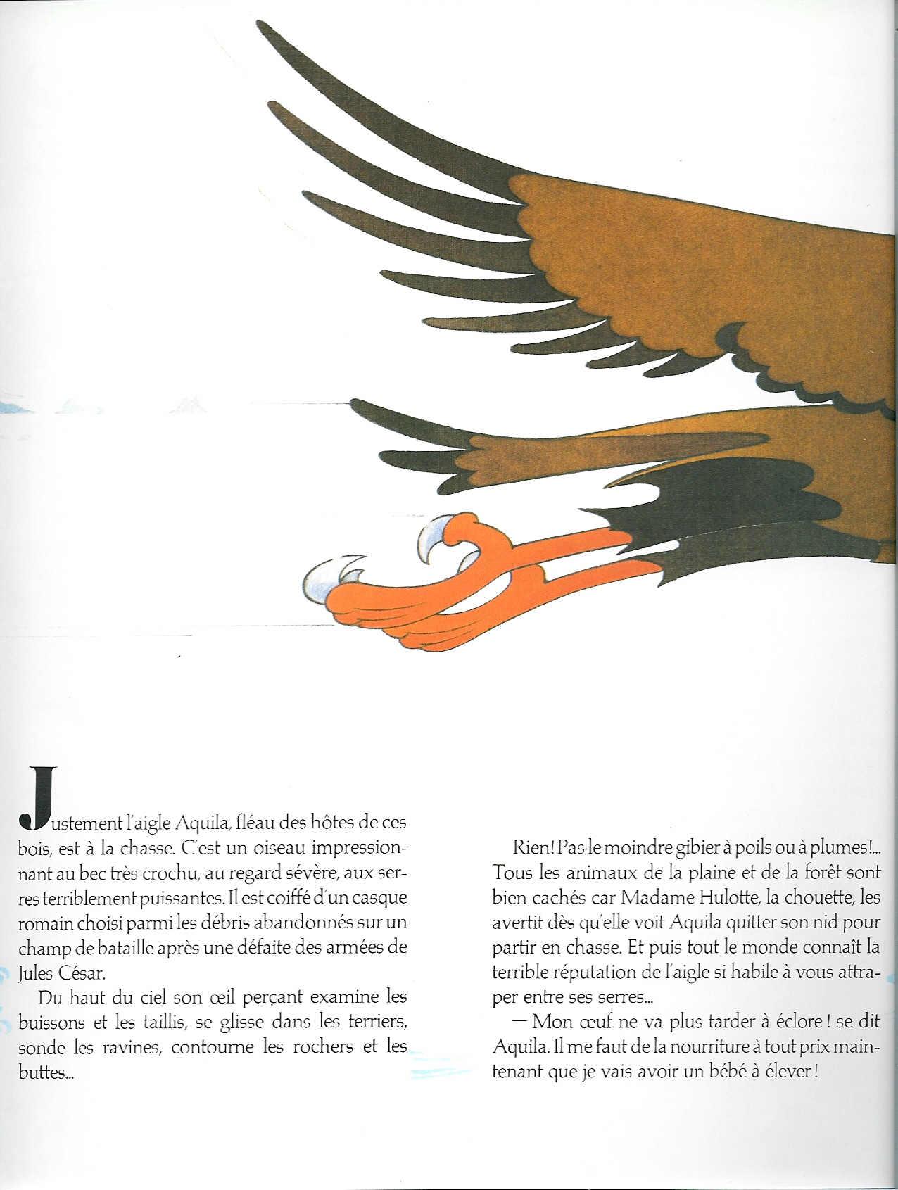 T01 : Le vilain petit aiglon (Idéfix) page 5