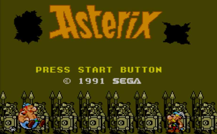 Astérix, intro