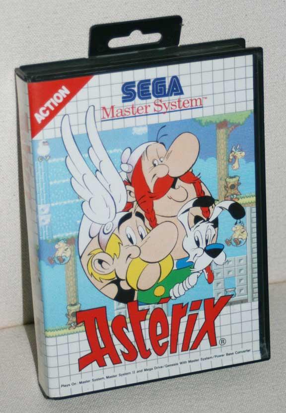 Boite Astérix Jeux Master System
