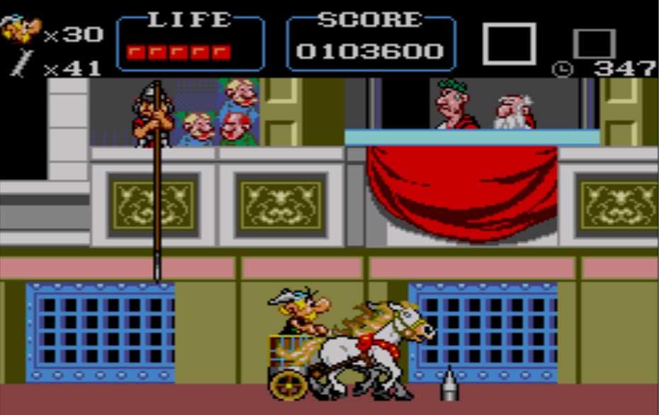 jeu Astérix Master System