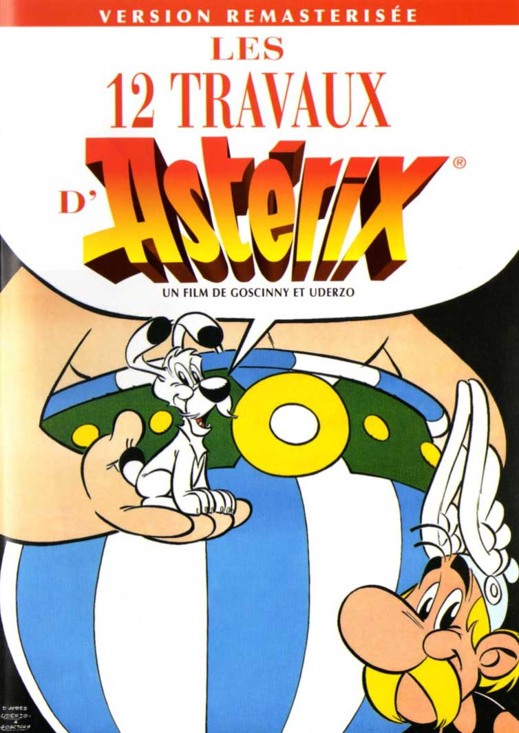 Les 12 travaux d'Astérix (film animé 1976) affiche