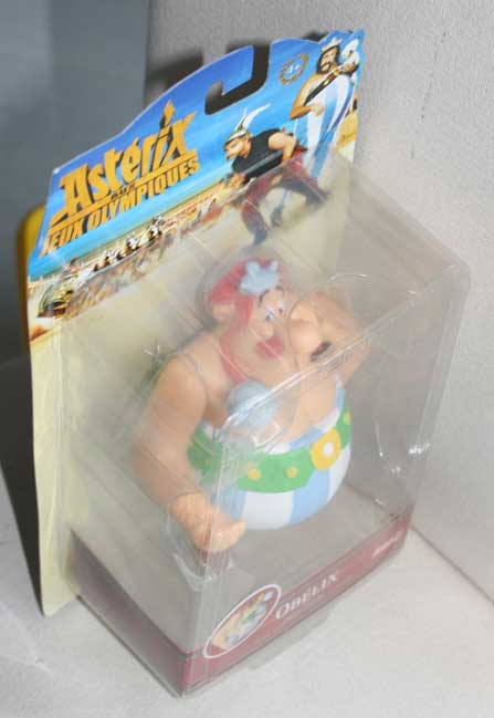 Figurine Lansay : Obélix (2008) packaging