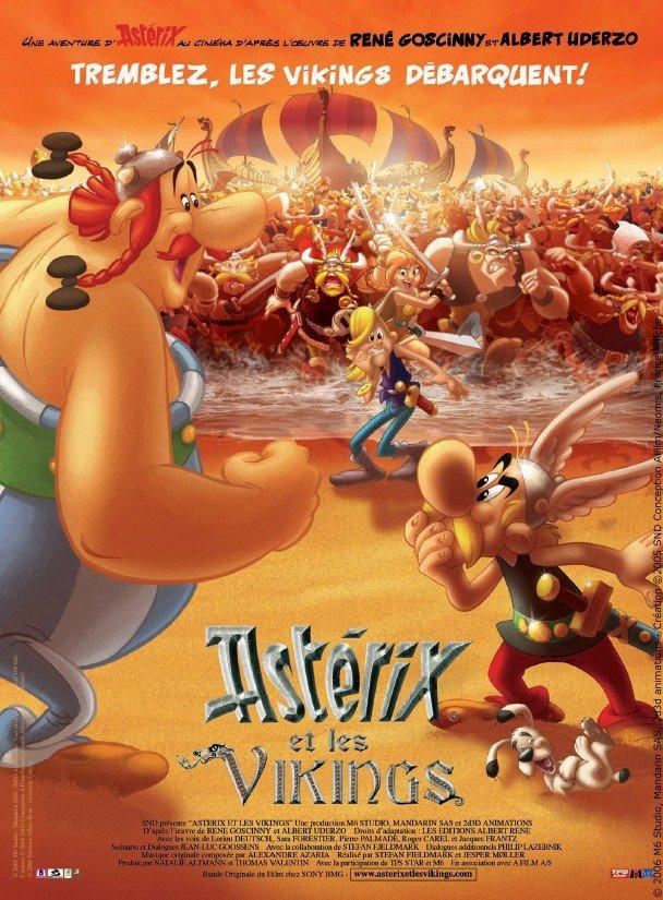 Astérix et les Vikings (2006) affiche