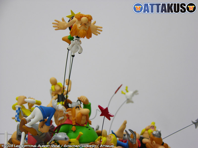 Attakus : La bagarre du village - 50 ans d'Astérix (2009)