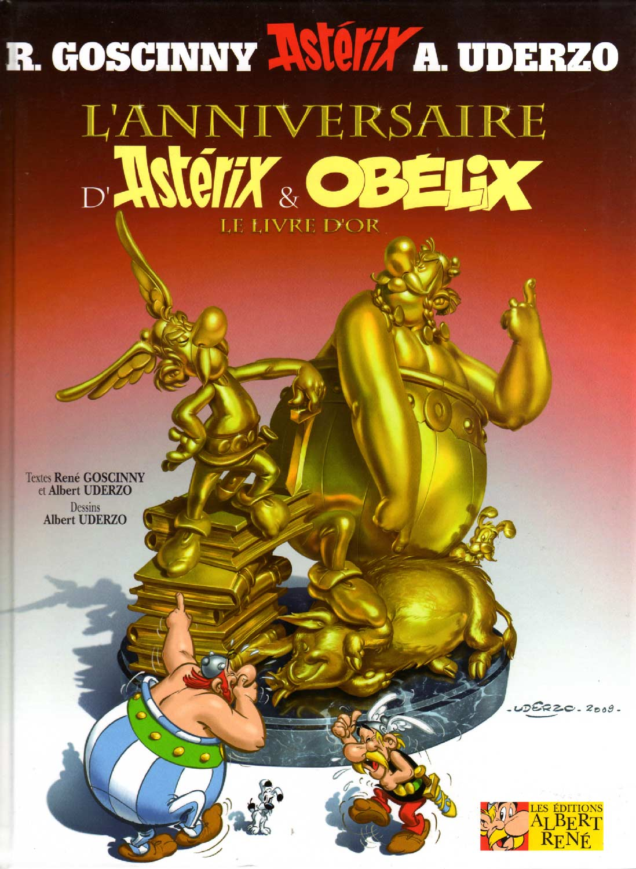 Tome 34 : L'Anniversaire d'Astérix et Obélix (le livre d'Or)