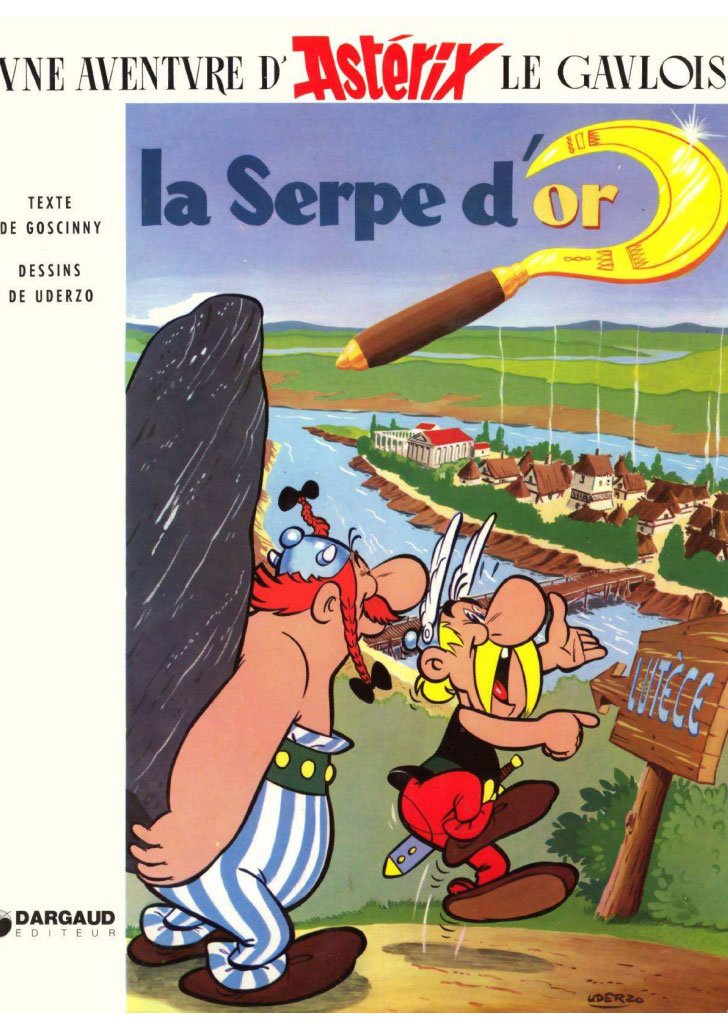 T2 : La Serpe d'or couverture