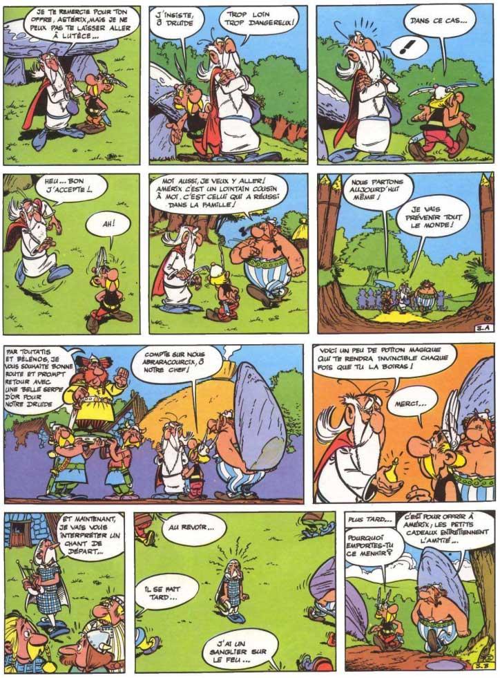 T2 : La Serpe d'or page 3