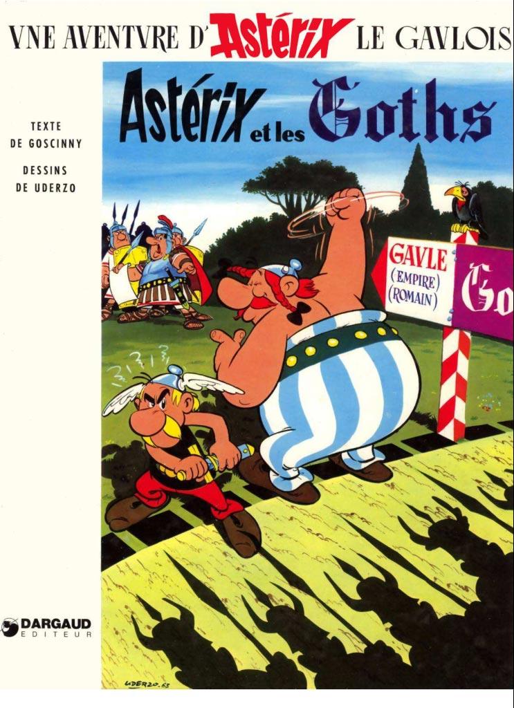 T3 : Astérix et les Goths couverture