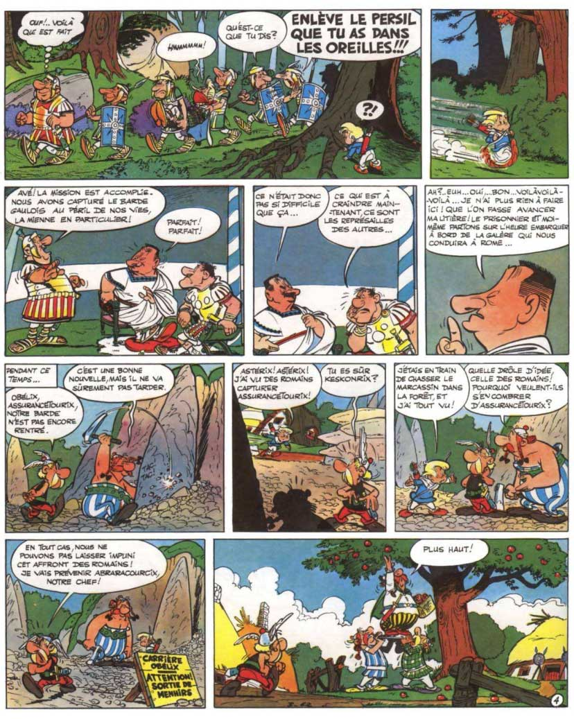 T4 : Astérix gladiateur P4
