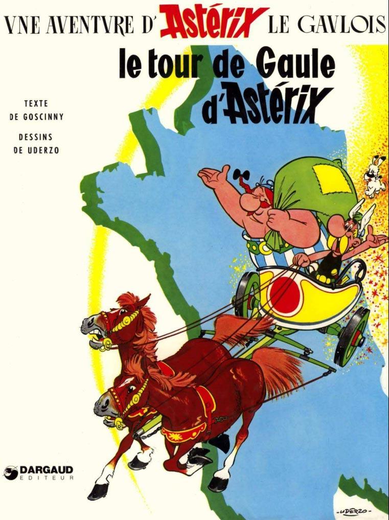 T5 : Le Tour de Gaule d'Astérix couverture